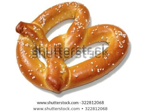 Hunger for pretzels. Stock photo © Fisher