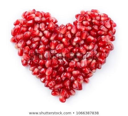 гранат · сердце · Creative · фото · красный · вверх - Сток-фото © pressmaster