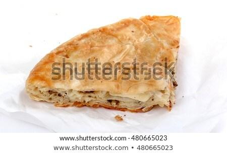 Burek, a traditional Balkan dish Stock photo © stevanovicigor