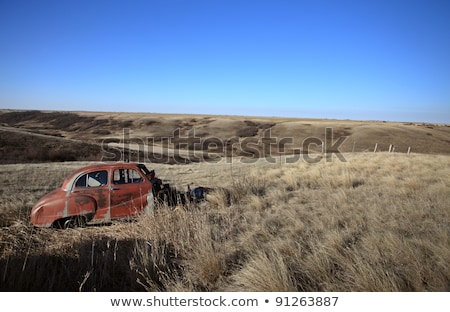 Old Vintage Rust Car abandioned Canada Stock photo © pictureguy