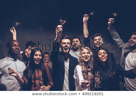 business · team · drinken · champagne · vrouw · vergadering · team - stockfoto © wavebreak_media