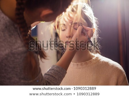 невеста макияж свадьба подготовка домой Сток-фото © wavebreak_media