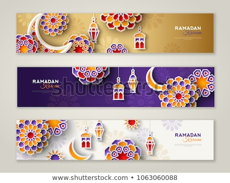 beautiful vintage ramadan kareem background vector illustration