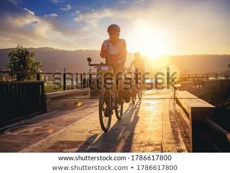 Bikes in a row  Stock photo © vapi