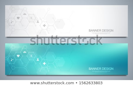 Chemical industry pattern Stock fotó © netkov1