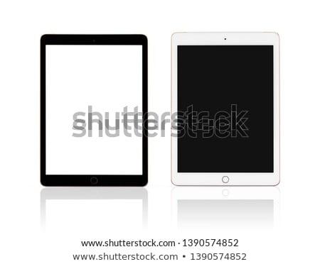 новых таблетка белый изолированный интернет Сток-фото © OleksandrO