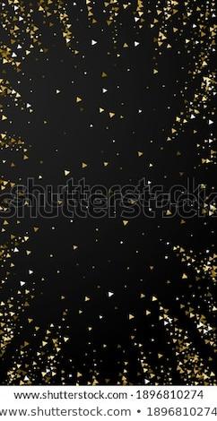 Pompás arany fényes izzik csillámlás luxus Stock fotó © Anneleven