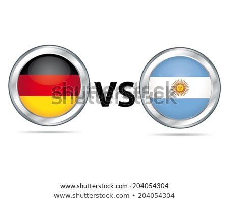 Illustration for Football match of quarterfinal Stock photo © olira