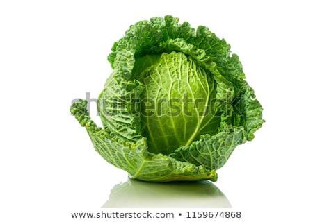 Savoy cabbage Stock photo © simply