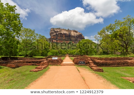 Pathway to Sigiriya rock Stock photo © dmitry_rukhlenko