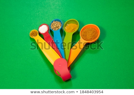 Stock photo: Spice and green