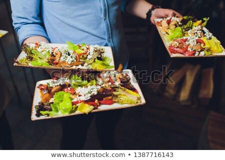 Salad servers Stock photo © photography33