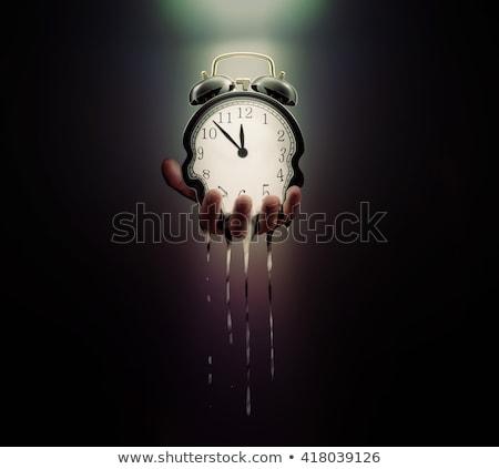 tempo · successo · colore · parola · clock · lavagna - foto d'archivio © Ansonstock