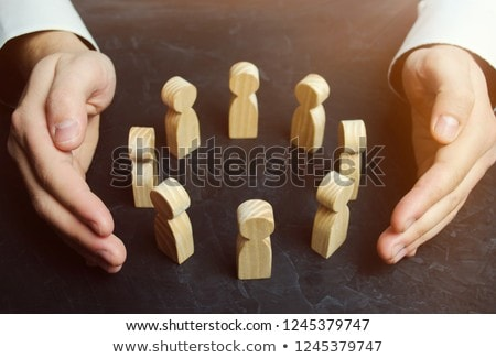 Group Protection Stock photo © Lightsource