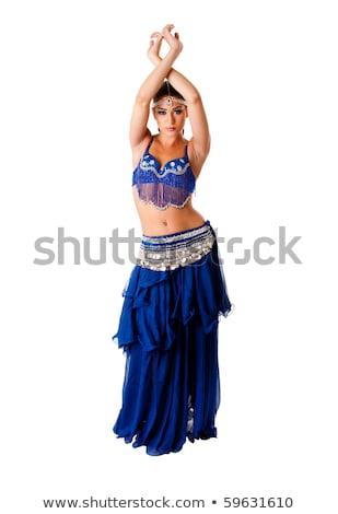 Beautiful eastern belly dancer Stock photo © Len44ik