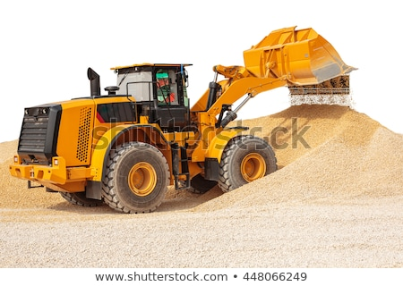 Loader isolated on a white Stock photo © vlad_star