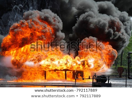 A big fire Stock photo © bluering