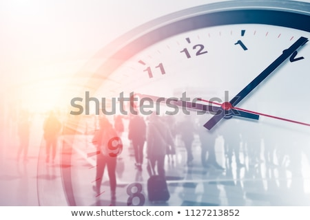 tijd · werk · uit · jonge · vrouw · groot · vorm - stockfoto © hsfelix