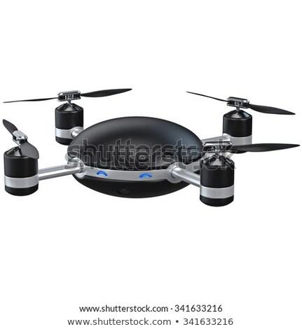 octocopter on white background. Isolated 3d illustration Stock photo © ISerg