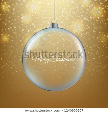 金 · 白 · グリッター · カード · 証明書 - ストックフォト © barbaliss