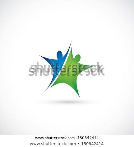 eco green star vector icon sign Stock photo © blaskorizov