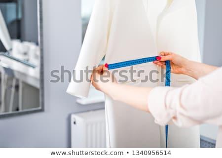 привлекательный Lady модный костюм позируют Сток-фото © NeonShot