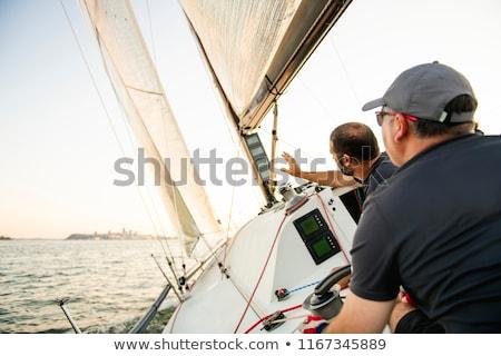 team · jacht · opleiding · concurrentie · water - stockfoto © Lopolo