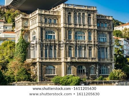 Bina İstanbul Türkiye barok fransız mimar Stok fotoğraf © boggy