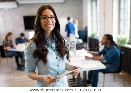 portrait of young architect in office Stock photo © photography33