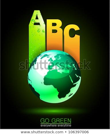Ranking Papers Tag for Eco Green Corporatesl Classifications Stock photo © DavidArts