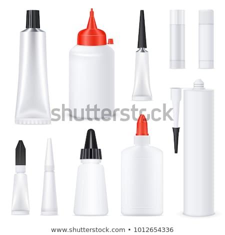 White Tube Of Super Glue Stock photo © netkov1