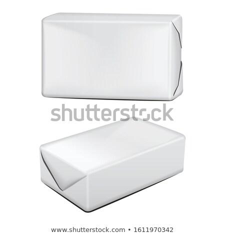 バター · ローフ · レーズン · まな板 · パン · 白 - ストックフォト © shutswis