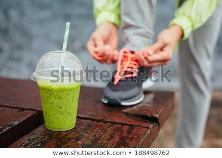 detox drink,smoothie Stock photo © M-studio