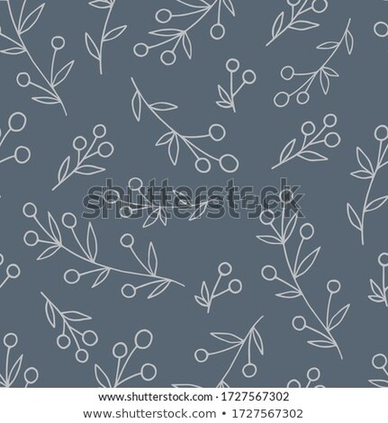Vintage Bilberry Seamless Pattern Stock photo © ConceptCafe