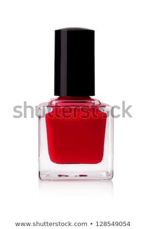 unha · polonês · fragrância · garrafa · garrafas · isolado · branco - foto stock © kayros