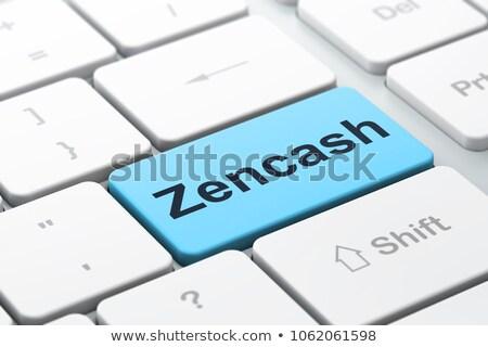 bankacılık · mesaj · mavi · klavye · düğme · 3D - stok fotoğraf © tashatuvango