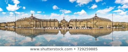 Place de la Bourse in Bordeaux Stock photo © benkrut