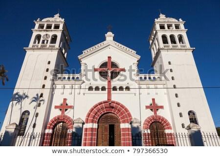 Black Christ of Juayua Church  Stock photo © benkrut