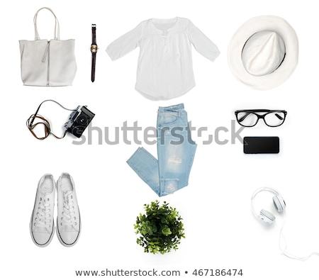 woman bags sale. isolate on white background Stock photo © rogistok