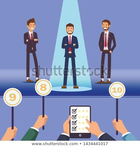 Personel zarządzania rozwoju wektora zasady Zdjęcia stock © robuart