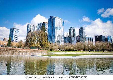 現代 企業 オフィス 高層ビル 市 センター ストックフォト © Anneleven