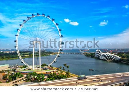Foto stock: Singapore Flyer