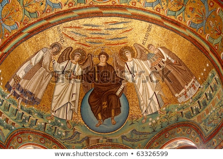 Basilica of San Vitale (Saint Vitalis) in Ravenna Stock photo © aladin66
