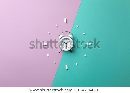 prescrição · relógio · saúde · medicina - foto stock © devon