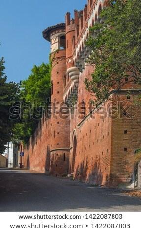 Италия · здании · путешествия · замок · история · Cityscape - Сток-фото © phbcz