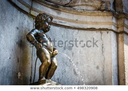 Brüsszel Belgium víz művészet utazás Európa Stock fotó © sumners