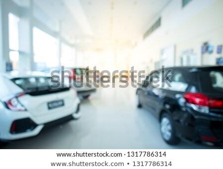 Comprar no coche persona coche nuevo dinero Foto stock © iqoncept