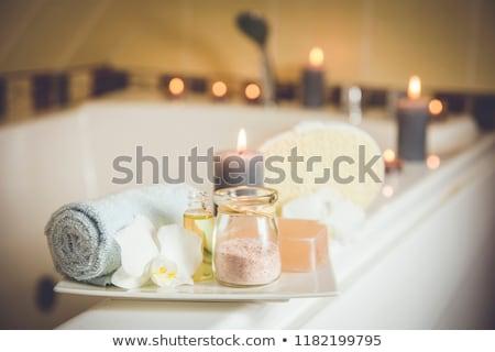 aromatherapy bath Stock photo © ArenaCreative
