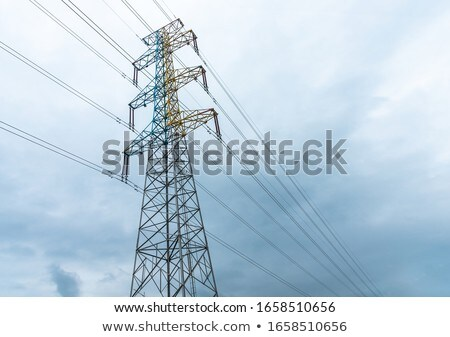 elektromosság · torony · erő · közelkép · lövés · készlet - stock fotó © 805promo