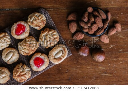panellets, typical pastries of Catalonia, Spain, eaten in All Sa Stock photo © nito